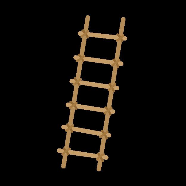 はしごのイラスト